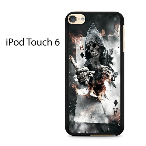 Ace Skull Ipod Touch 6 Case