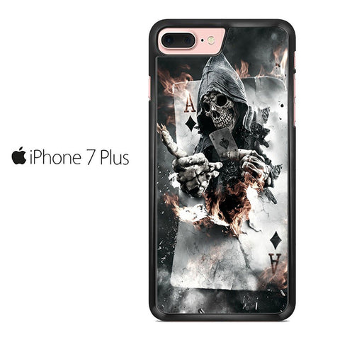 Ace Skull Iphone 7 Plus Case