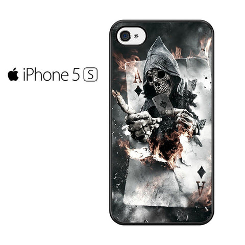 Ace Skull Iphone 5 Iphone 5S Iphone SE Case