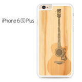 Acoustic Guitar Wood Art Iphone 6 Plus Iphone 6S Plus Case