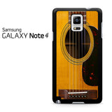 Acoustic Guitar Samsung Galaxy Note 4 Case