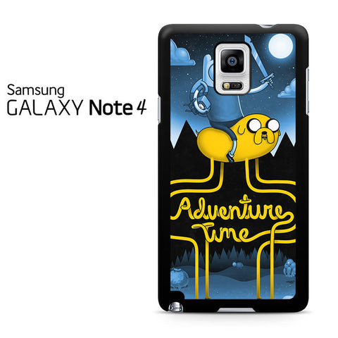 Adventure Time Poster Samsung Galaxy Note 4 Case