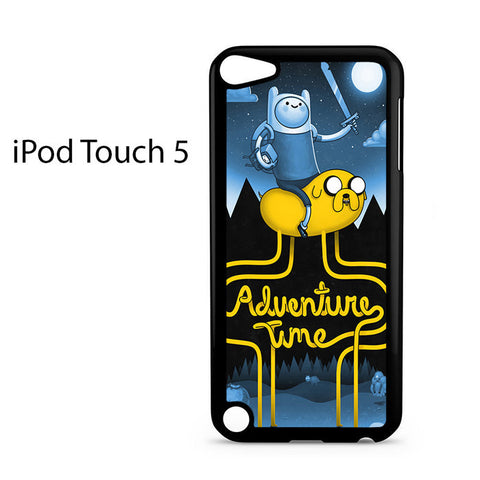 Adventure Time Poster Ipod Touch 5 Case