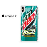 Mountain Dew Baja Blast Iphone X Case
