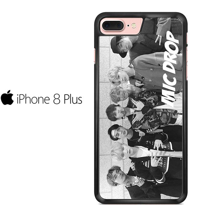 cheap for discount 3aafe 824f8 BTS Mic Drop Iphone 8 Plus Case