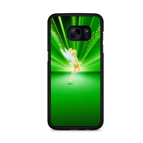 Tinkerbell Walt Disney Green Samsung Galaxy S7 Edge Case