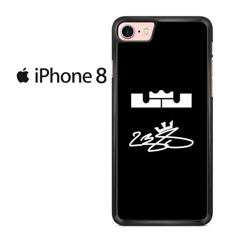 Signature Logo Lebron James Iphone 8 Case