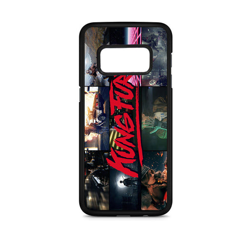 Kung Fury Collage Samsung Galaxy S8 Case