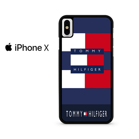 Block Color Tommy Hilfiger Iphone X Case