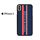 Stripes Block Tommy Hilfiger Iphone X Case