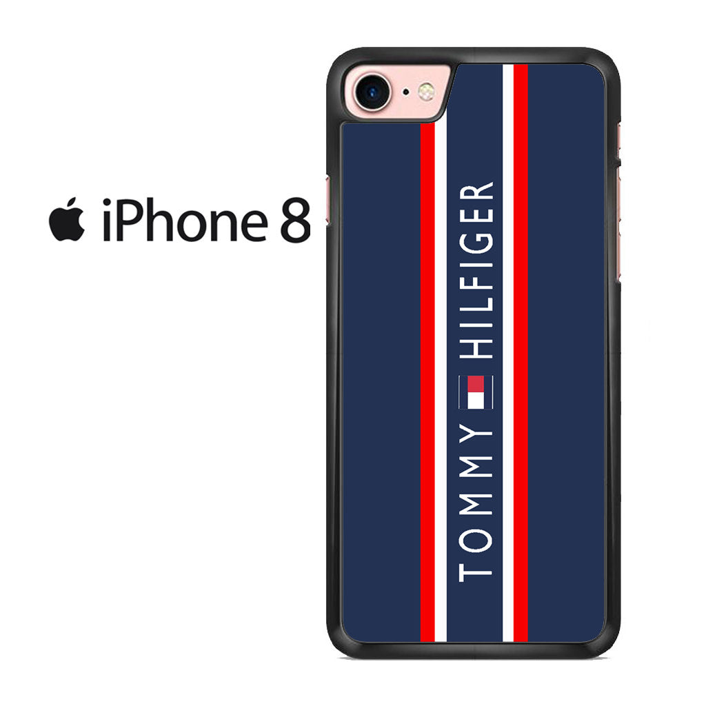 low priced cdf53 7c883 Stripes Block Tommy Hilfiger Iphone 8 Case