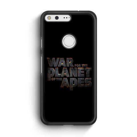 War For The Planet Of The Apes Logo Google Pixel XL Case
