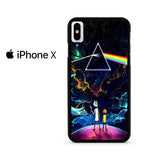 Rick And Morty Pink Floyd Iphone X Case