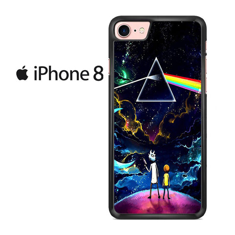Rick And Morty Pink Floyd Iphone 8 Case