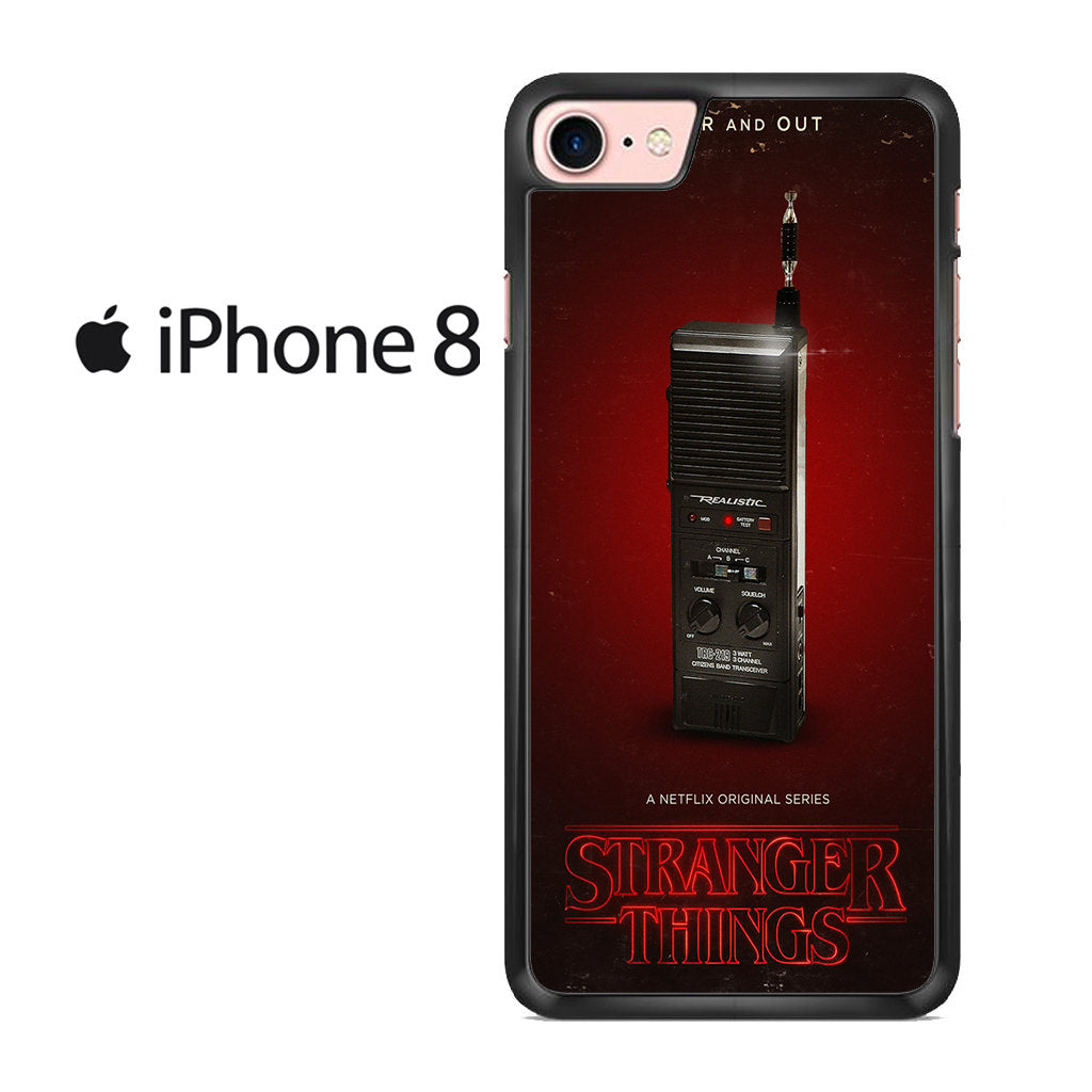 official photos 6e01a 96b8d Stranger Things Handy Talky Iphone 8 Case