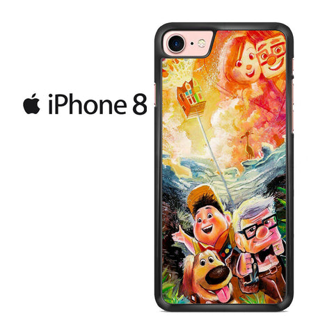 Up Pixar Fan Art Iphone 8 Case