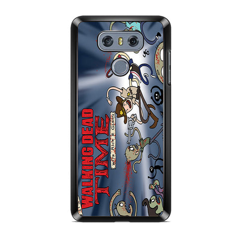 Walking Dead With Rick And Glenn LG G6 Case