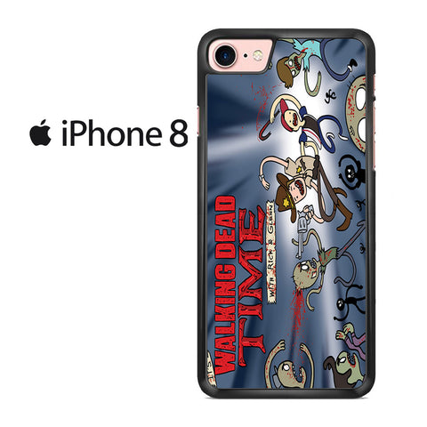 Walking Dead With Rick And Glenn Iphone 8 Case
