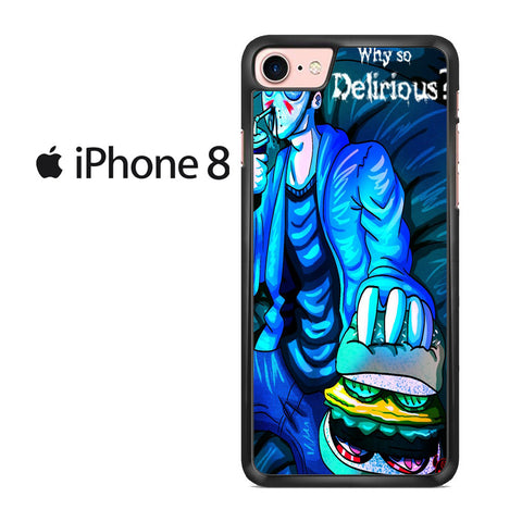Why So Delirious H2O Delirious Iphone 8 Case