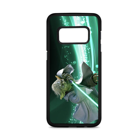 Yoda With Lightsaber Samsung Galaxy S8 Case