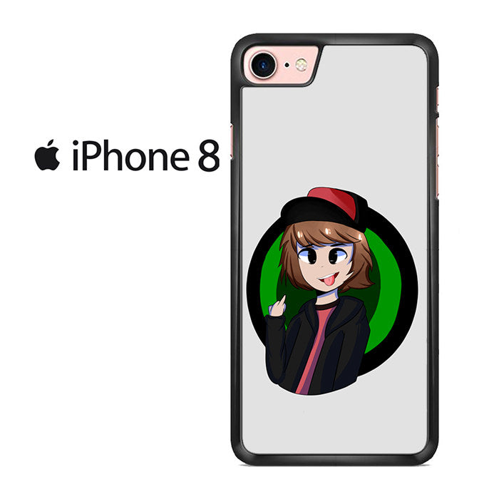Leafy Is Here Iphone 8 Case