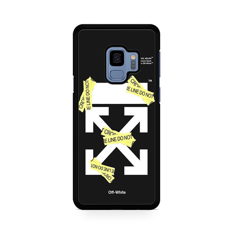 Off White Cross Line Samsung Galaxy S9 Case