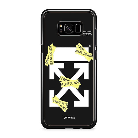 Off White Cross Line Samsung Galaxy S8 Plus Case