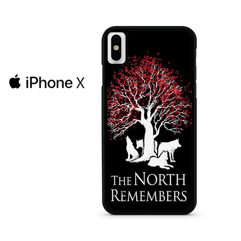 The North Remember Tree Iphone X Case