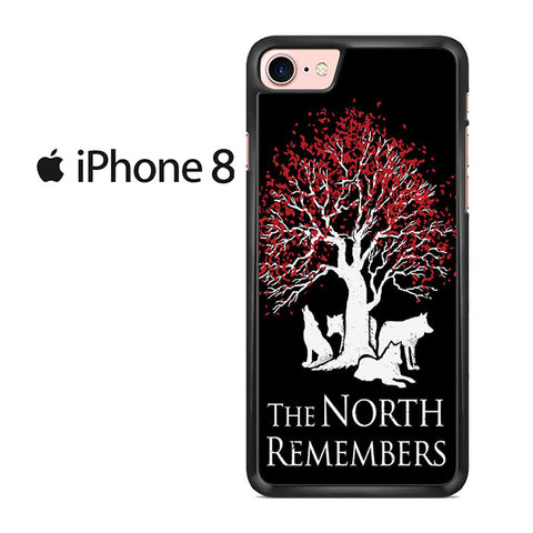 The North Remember Tree Iphone 8 Case