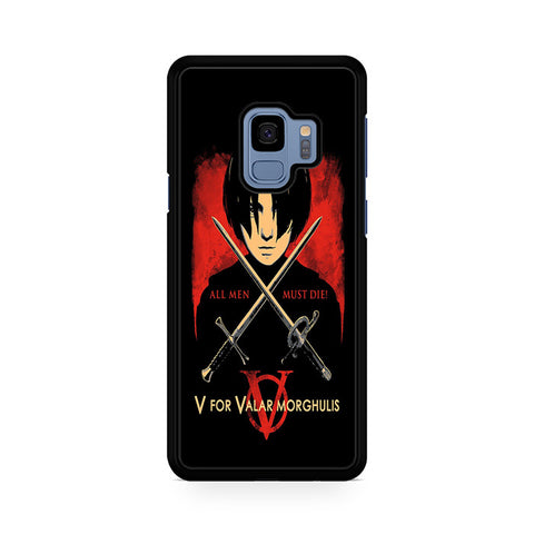 The North Remembers All Men Must Die Samsung Galaxy S9 Case