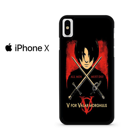 The North Remembers All Men Must Die Iphone X Case