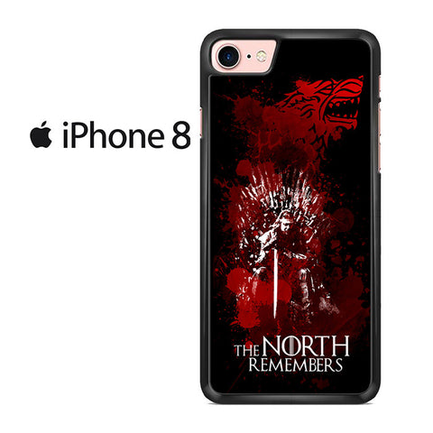 The North Remembers Game Of Thrones Iphone 8 Case