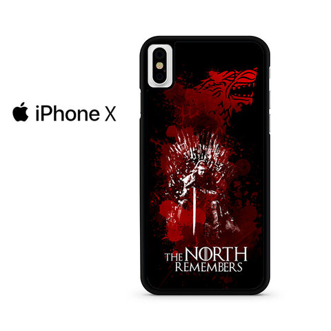 The North Remembers Game Of Thrones Iphone X Case