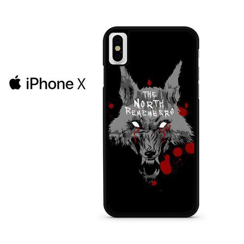 The North Remembers Iphone X Case