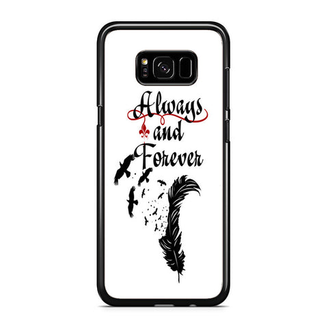 Vampire Diaries Always And Forever Samsung Galaxy S8 Plus Case