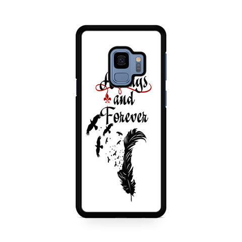 Vampire Diaries Always And Forever Samsung Galaxy S9 Case