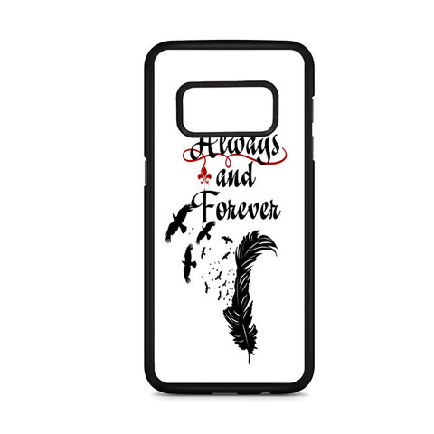 Vampire Diaries Always And Forever Samsung Galaxy S8 Case