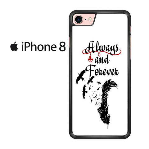 Vampire Diaries Always And Forever Iphone 8 Case