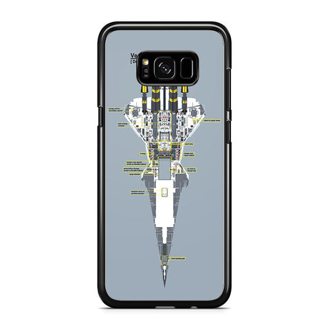 Venator Star Destroyer Samsung Galaxy S8 Plus Case