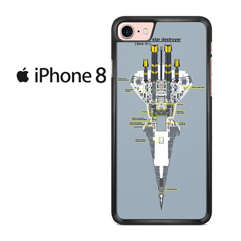 Venator Star Destroyer Iphone 8 Case