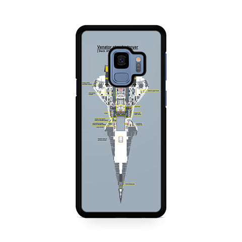 Venator Star Destroyer Samsung Galaxy S9 Case