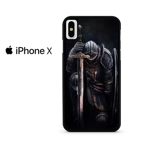 Warrior Angel With Sword And Shield Iphone X Case