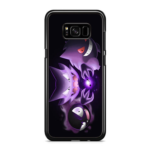 Wild Gastly Haunter To Gengar Evolution Samsung Galaxy S8 Plus Case