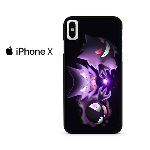 Wild Gastly Haunter To Gengar Evolution Iphone X Case