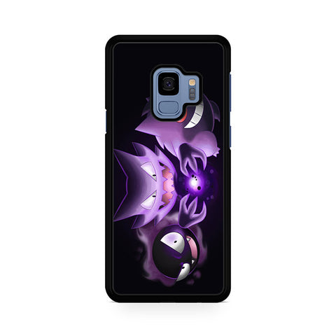 Wild Gastly Haunter To Gengar Evolution Samsung Galaxy S9 Case