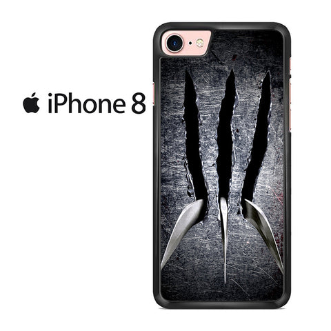 Wolverine Claw Iphone 8 Case