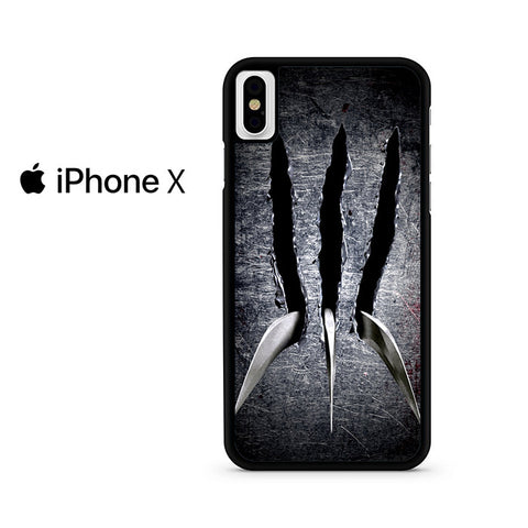 Wolverine Claw Iphone X Case