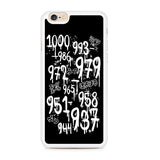 1000 Minus 7 Iphone 6 Iphone 6S Case