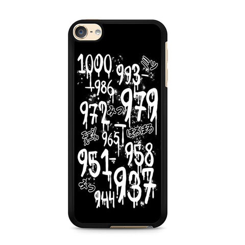 1000 Minus 7 Ipod Touch 6 Case