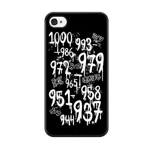 1000 Minus 7 Iphone 5 Iphone 5S Iphone SE Case